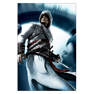 Assassin's Creed. Размер: 40 х 60 см